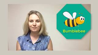 Bumblebee. Poem for kids