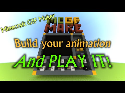 Minecraft GIF Maker - Build and play ANIMATED PICTURES