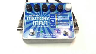 Stereo Memory Man With Hazarai Delay