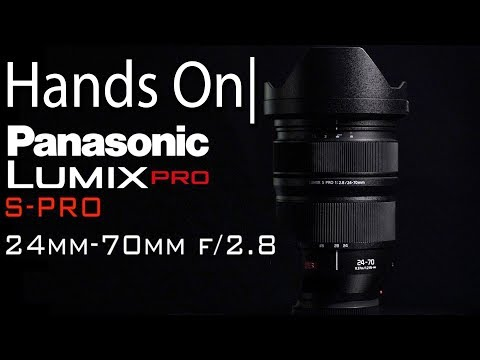 External Review Video bMW6lrwtXLI for Panasonic Lumix S Pro 24-70mm F2.8 Lens (S-E2470)