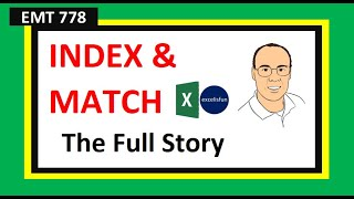 Excel Magic Trick 778: INDEX & MATCH Lookup Functions Beginning To Advanced (18 Examples)