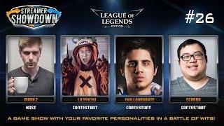 Streamer Showdown #26 League of Legends Edition (feat. LilyPichu, IWillDominate, Scarra, MarkZ)