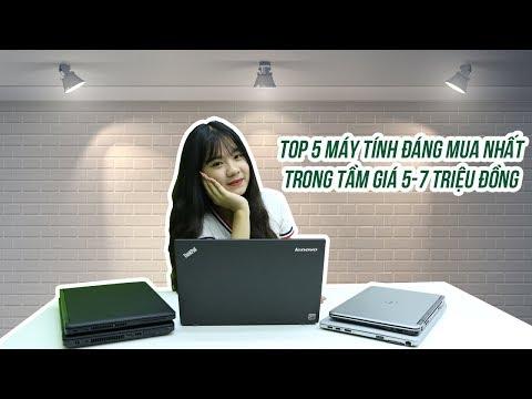 Top 5 laptop trong tầm 5-7 triệu đáng mua nhất dành cho năm học mới - Minhvu.vn