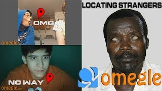 African Rebel Telling Strangers Where They Live On Omegle