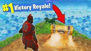 The ONE CHEST CHALLENGE - Fortnite Battle Royale!