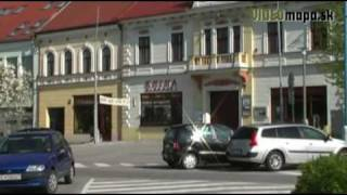 preview picture of video 'Námestie Svätého Michala (HLOHOVEC)'