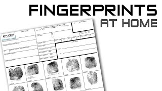Fingerprints At Home - An Easy How-To Guide