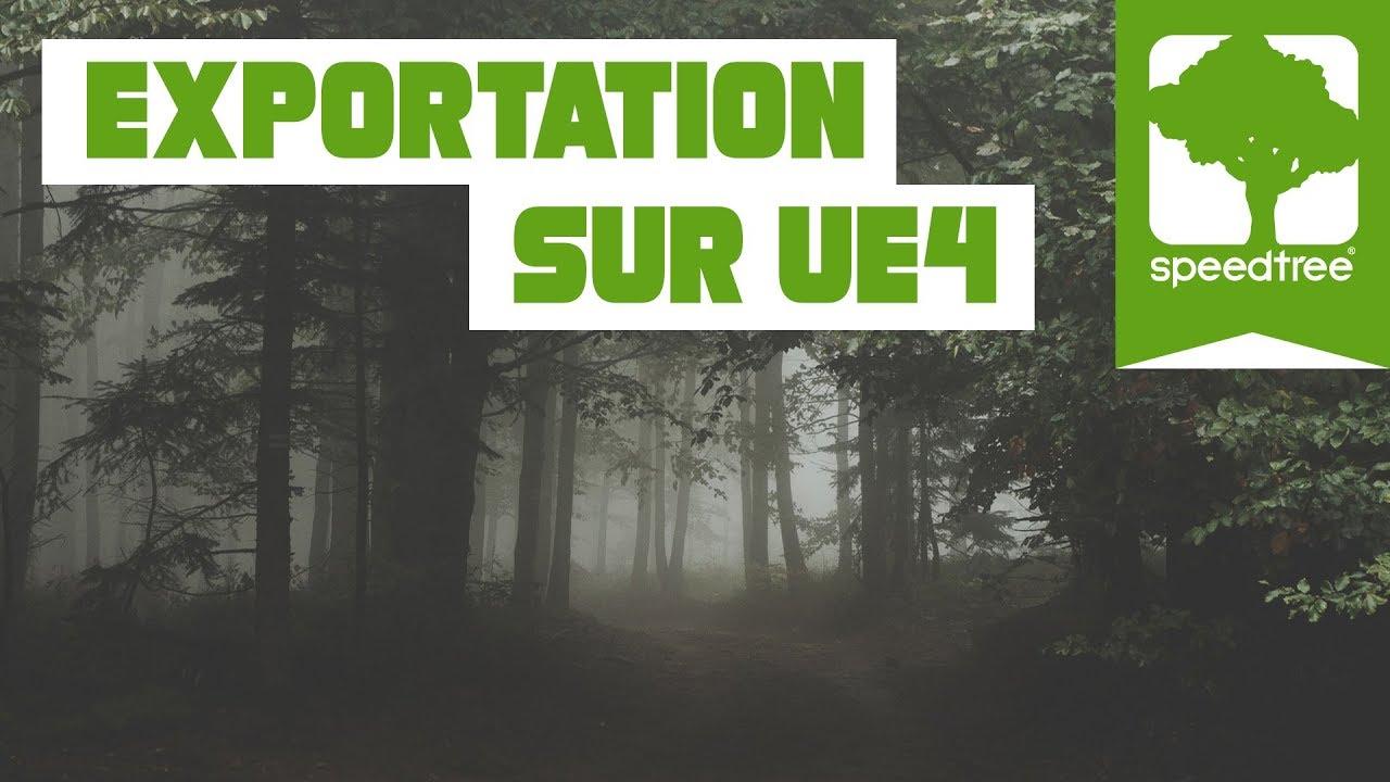 🌲SPEEDTREE🌲: EXPORTATION SUR UNREAL ENGINE 4 | TUTO FR 🎨