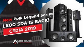 Polk Audio Legend Series & SDA Loudspeakers Overview