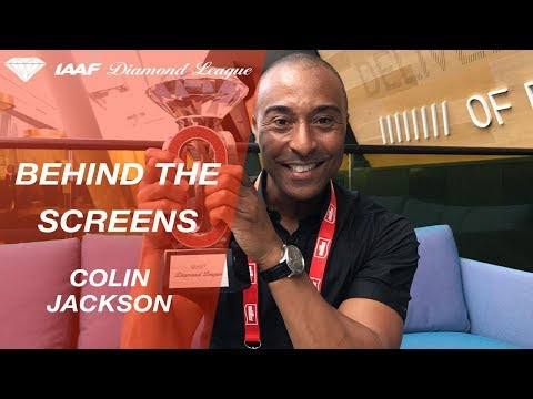 Behind the screens with Colin Jackson