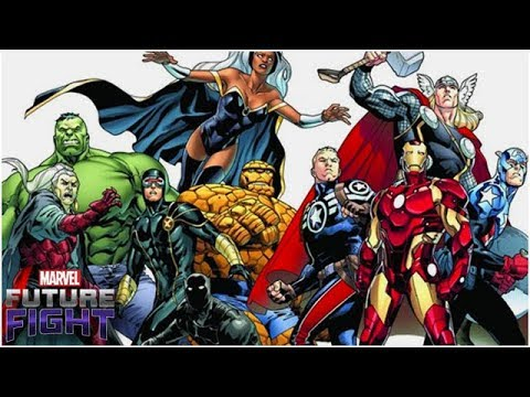 The Right Team - Marvel Future Fight