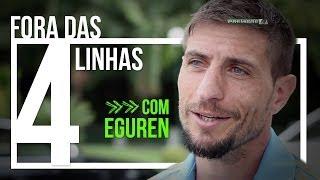 Eguren explica comemorações de gol e sonha em ver show dos Titãs