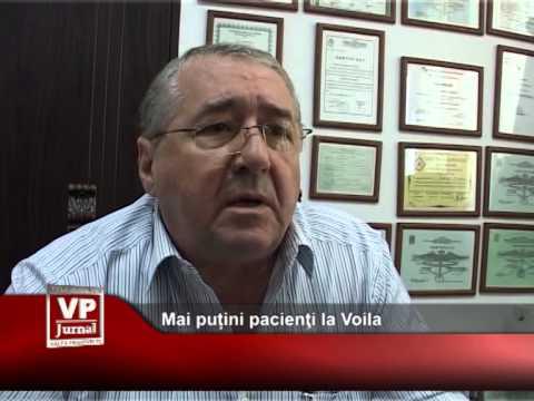 Mai puțini pacienţi la Voila