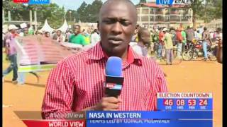 NASA tells the community that they largely own this particular government (NASA)