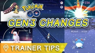 Download Youtube: 16 CHANGES YOU NEED TO KNOW ABOUT POKÉMON GO GEN 3