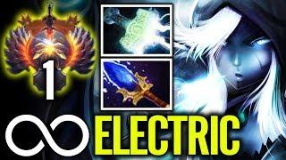 Drowranger Aghanim Spinning Lightning Arrow - Immortal rank 9K mmr Dota 2 gameplay by matumbaman