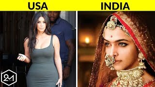 Concept of Female Beauty in 10 Different Countries!