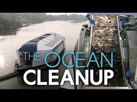 Masjien haal plastiek uit riviere om see te beskerm