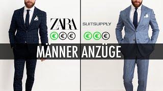Welcher Männer Anzug ist besser? Zara oder Suitsupply?