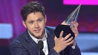 Niall Horan WINS New Artist Of The Year Award At 2017 AMAs