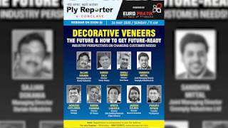 E-Conclave On Decorative Veneers - The Future And How To Get Future-Ready - Powered By Euro Pratik