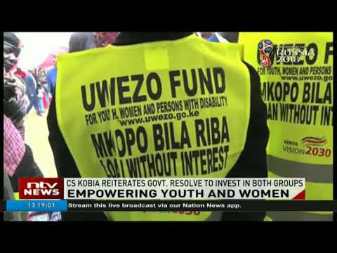 CS Kobia reiterates state resolve to invest in youth, women