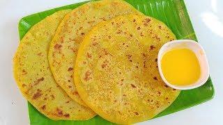 ತೊಗರಿಬೇಳೆ ಒಬ್ಬಟ್ಟು/ ಹೋಳಿಗೆ ಮಾಡುವ ವಿಧಾನ | Bele Obbattu Recipe- Thogari Bele Obbattu Recipe