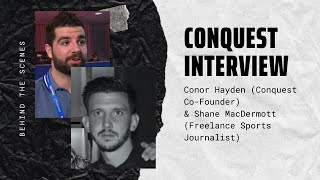 Conor Hayden Interview With Shane MacDermott