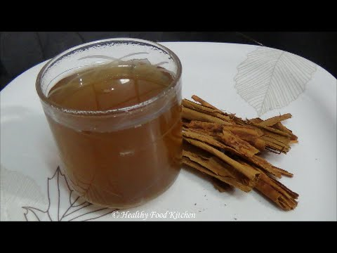 Video Cinnamon Honey Tea Recipe-A Weight Loss Recipe By Healthy Food Kitchen