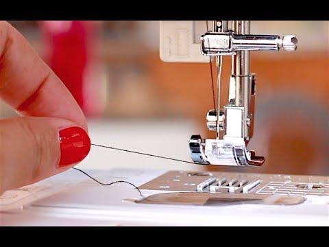 Couture débutant : Comment enfiler une machine à coudre ✨ Marion Blush