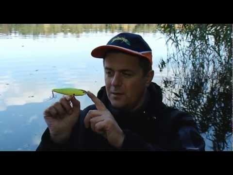 Учебное видео о воблере Strike Pro Finnese Walking Stick
