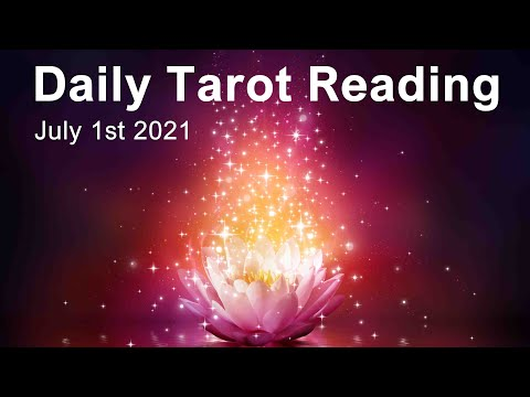 """DAILY TAROT READING """"A WINDOW OF OPPORTUNITY: A POTENTIAL TURNING POINT"""" July 1st 2021 #Youtube"""