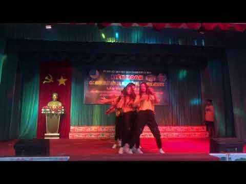 Tiết mục dự Liên hoan các nhóm nhảy hiện đại do Thành đoàn Cà Mau tổ chức năm 2019