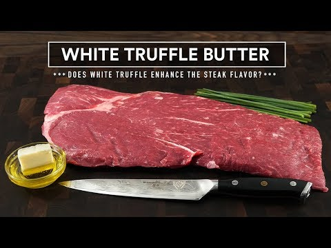 Does WHITE TRUFFLE BUTTER Enhances a FLAT IRON steak? | Sous Vide Everything