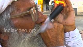 Traditional Smoking Pipe, Porbandar
