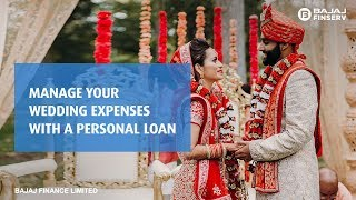 Manage your Wedding Expenses with a Personal Loan