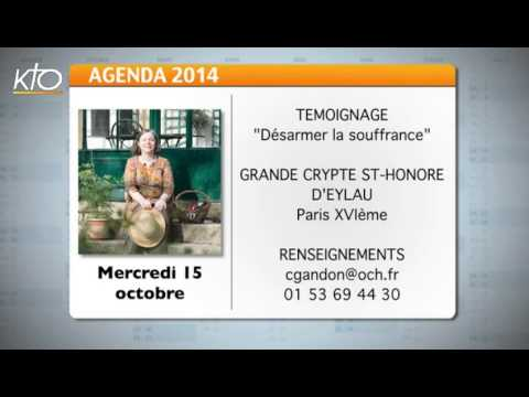 Agenda du 6 octobre 2014