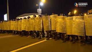 Belarus/alegeri: Peste 120 de persoane reţinute după ciocnirile violente (organizaţie pentru drepturile omului)