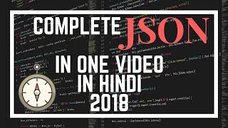 JSON in One Video in Hindi 2018