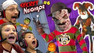 SECRET NEIGHBOR FREDDY KRUEGER is OVERPOWERED!  (FGTeeV Hello Neighbor Escape w/ Chase #6)