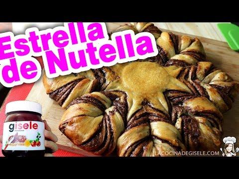 Te Enseñamos a Preparar Un Pan Estrella De Nutella
