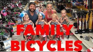 FIRST FAMILY BIKES!!!