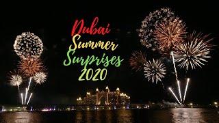 DUBAI SUMMER SURPRISES 2020 | The Pointe Fireworks The Palm Jumeirah