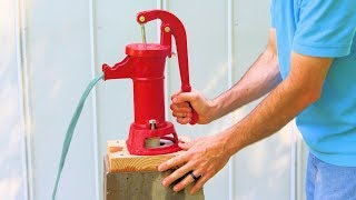 How to Drill a Well by Hand