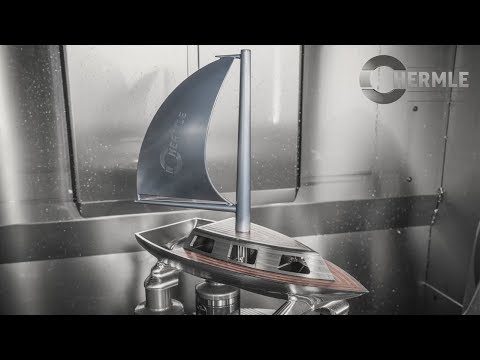 Hermle C 400 sailing boat