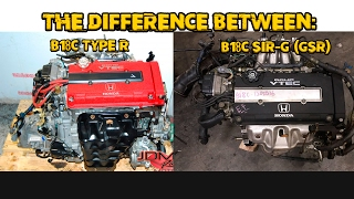 Download Video The Difference Between: JDM B18C Type R & SIR-G (GSR) MP3 3GP MP4