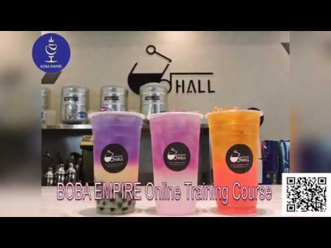 Boba Empire Online Training Course Preview Video 皇翼食品全台 ...