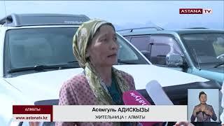9 складских помещений сгорели полностью в результате крупного пожара в Алматы, - КЧС