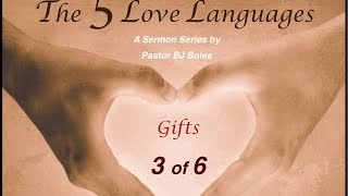 5 Love Languages #3: Receiving Gifts (v1)