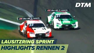 Rast gegen Müller im Fotofinish | Highlights Rennen 2 | DTM Lausitzring Sprint 2020